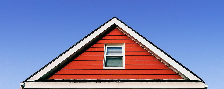 Farben-Fischer rotes Haus Skandinavien