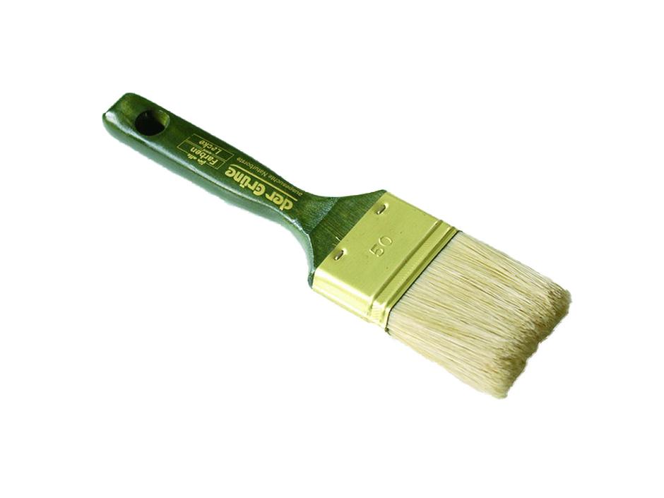 Flachpinsel der Grüne
