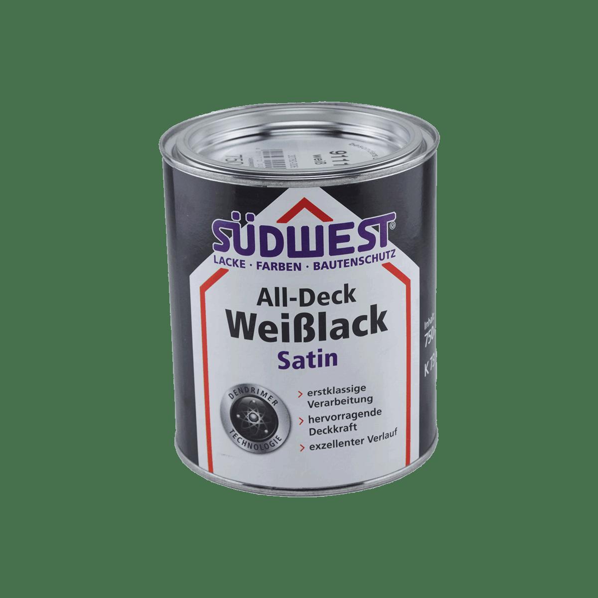 SÜDWEST All-Deck Weißlack Satin