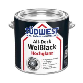 SÜDWEST All-Deck Weißlack Hochglanz